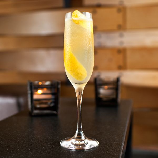 The lovely French 75. Find more delicious #cocktails at http://liquor.com/