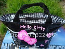 Zaino Cartella Rosa di Hello Kitty Borsa Bimba Bambina Cestino per Asilo Scuola