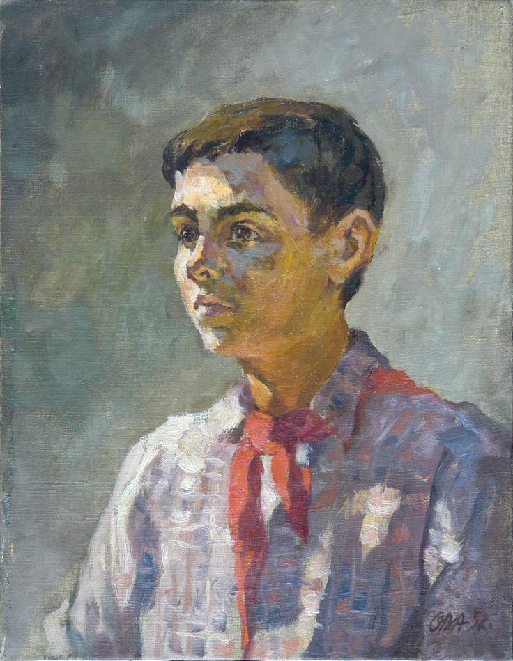 Пионер Артека-2 1952. х.м.