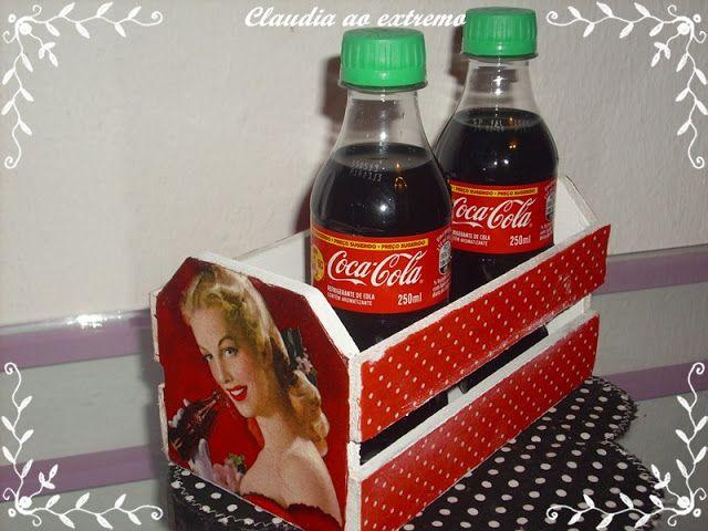 Claudia ao Extremo: Coca Cola! Nos caixotinhos!