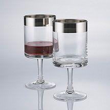 Madison Avenue Short Stem Wine Glasses (Set of 2)