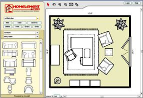 This is a great tool. Lets you virtually redesign a room layout without the heavy lifting.