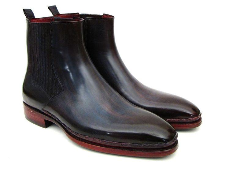 Mens Chelsea Boots Navy