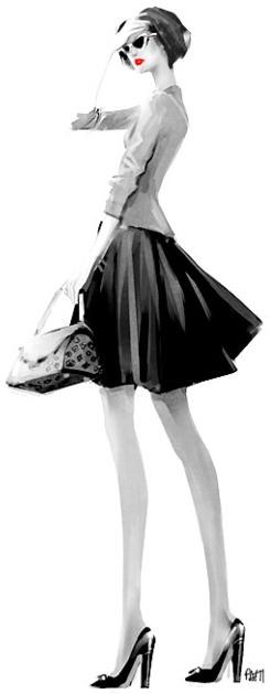 Elegant Fashion #Sketch