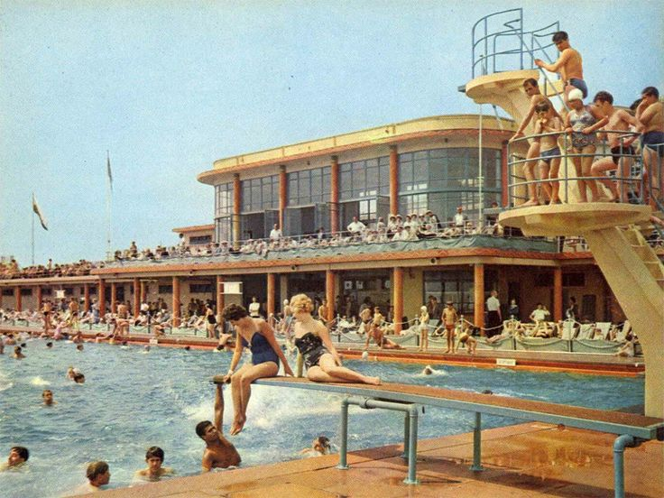 Black rock pool brighton 70s and then they built the for Pool design 1970