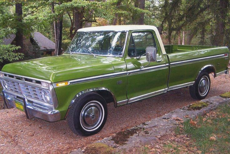 Old Ford Cars >> 1974 Ford F100 Ranger | Old Trucks | Pinterest | Ford, Ford trucks and Cars