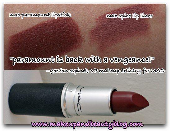 mac paramount lipstick dark skin - Google Search | Bomb ...