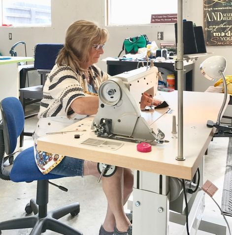 Hybrid cushions are our specialty and we've been sewing up a storm at the KOUSa headquarters.