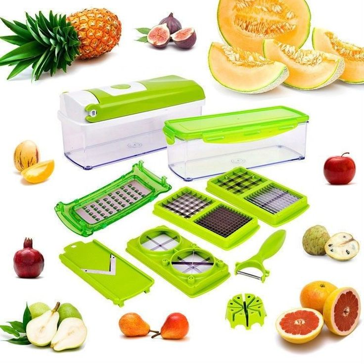 1 Set Useful Easy Fruit Vegetable Kitchen Tools Cutter Plus Chop Ler Chopper Pinterest Choppers And