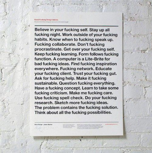 This is the best fucking fuck paper on the fucking wall I've ever read, fuck.
