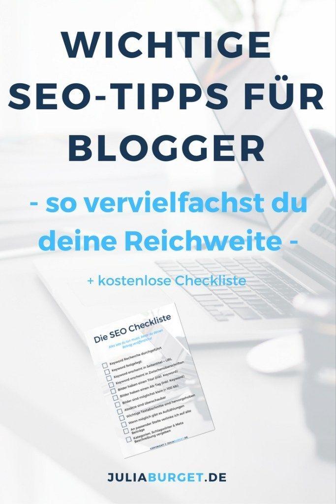5 wichtige SEO Tipps für Blogger, die deine Reichweite vervielfachen (+ Checkliste)