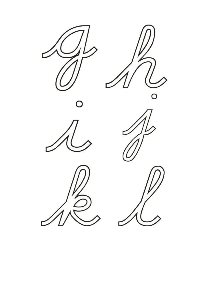 Letras en papel de lija y alfabeto móvil