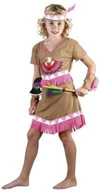 Kızılderili Kız Kostümü, Süperlüks 4-6 Y