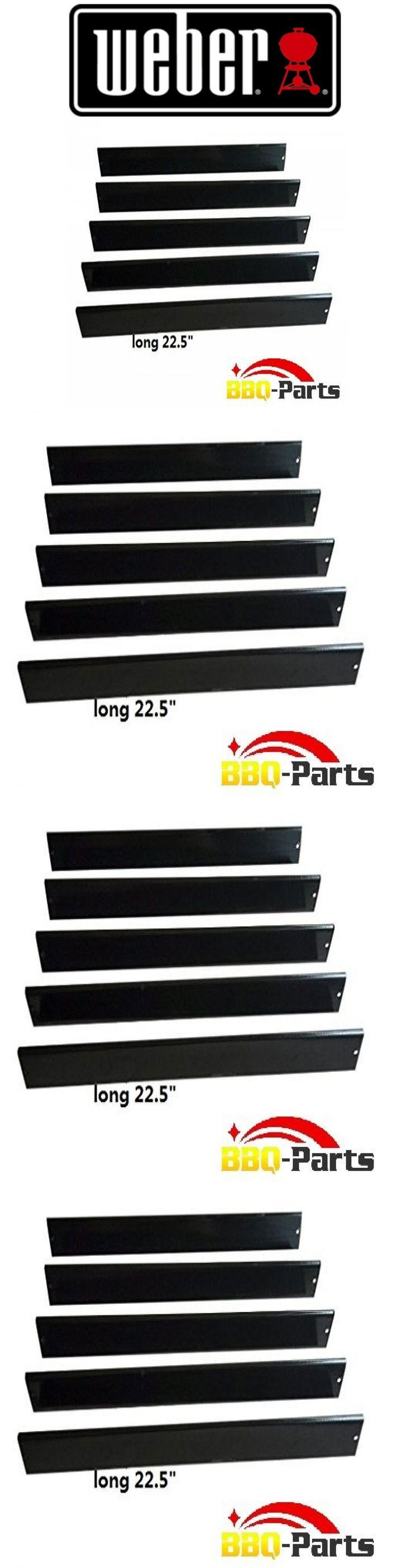 BBQ and Grill Replacement Parts 177018: Weber Set Of 5 Flavorizer Bars 7537 7536 Porcelain Steel Bbq Gas Grill Parts New -> BUY IT NOW ONLY: $42.98 on eBay!