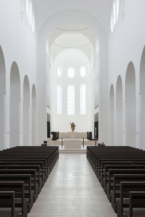 St Moritz Church by John Pawson