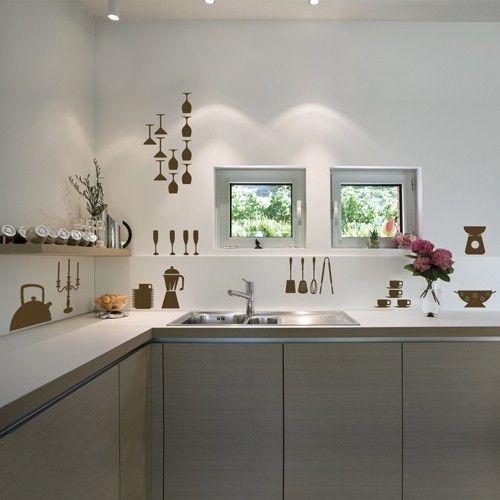 31 best Kitchen Wall Decor images on Pinterest Kitchen walls - kitchen wall decor ideas