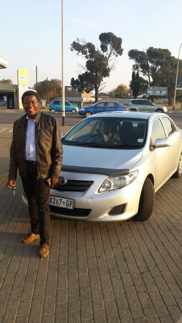 Welcome To The MP Car Group Family Superintendent Thwala. #happyclients #cars #finance #dreamscometrue