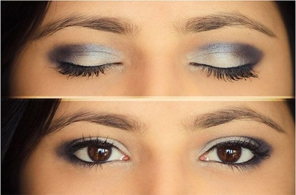 tutorial makeup smokey eyes