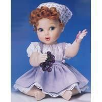 Lucille Ball I LOVE LUCY Franklin Mint GRAPE STOMPING Baby Doll NEW IN