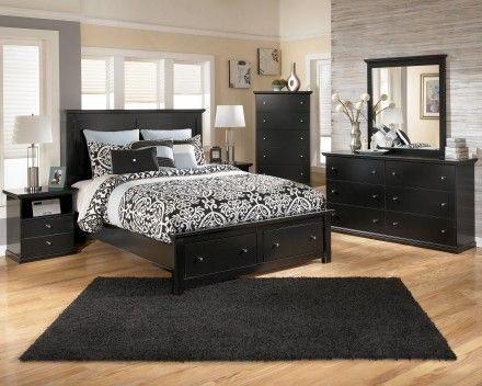 Maribel Panel Storage Bedroom Set in 2019 | Bedroom Furniture ...