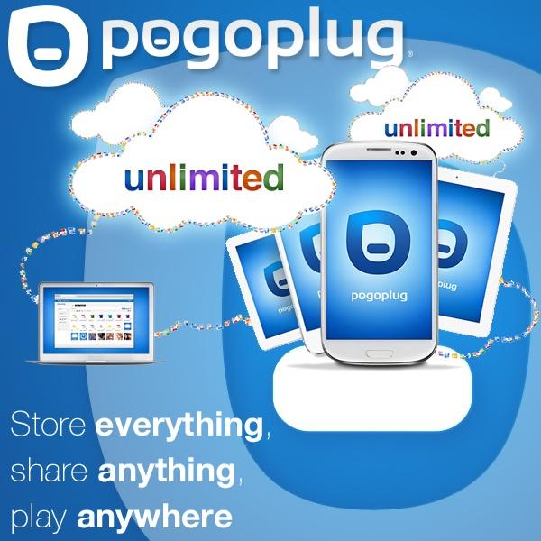 Pogoplug onbeperkte cloud-opslag voor een jaar - bewaar álles, deel álles en speel overal! Alleen vandaag van € 46,95 voor € 29,95!
