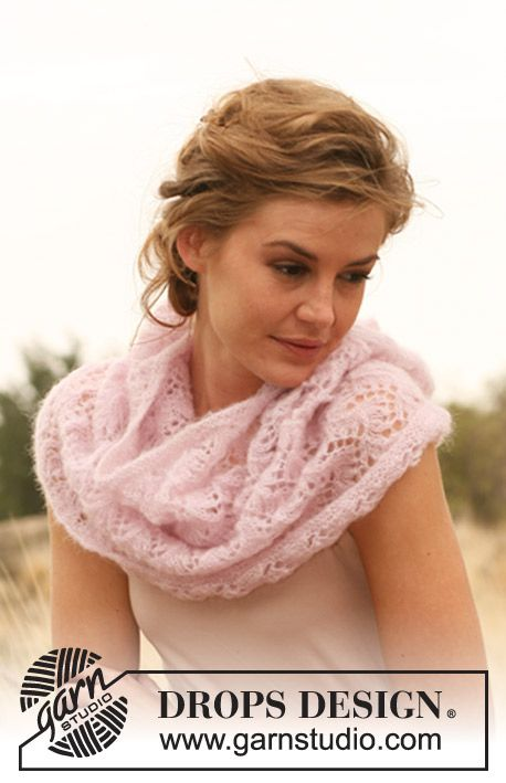 199 best cuellos dos agujas-knitted necks images on Pinterest ...