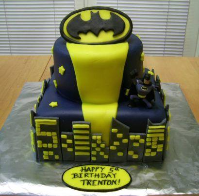 bolo de aniversário do batman