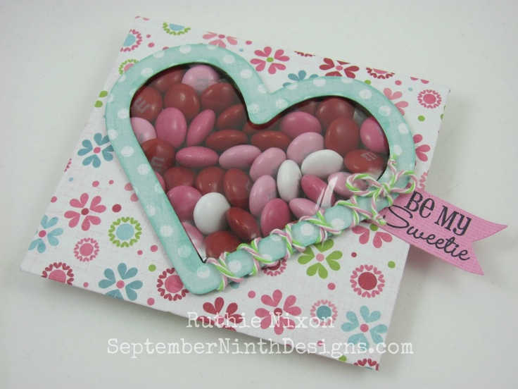Obsessed with Scrapbooking: Guest Designer Ruthie with Valentine Treat Packets