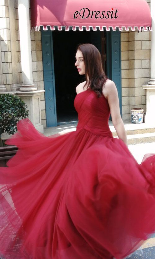 #burgunder #kleid #oneshoulderdressparty #party #prom