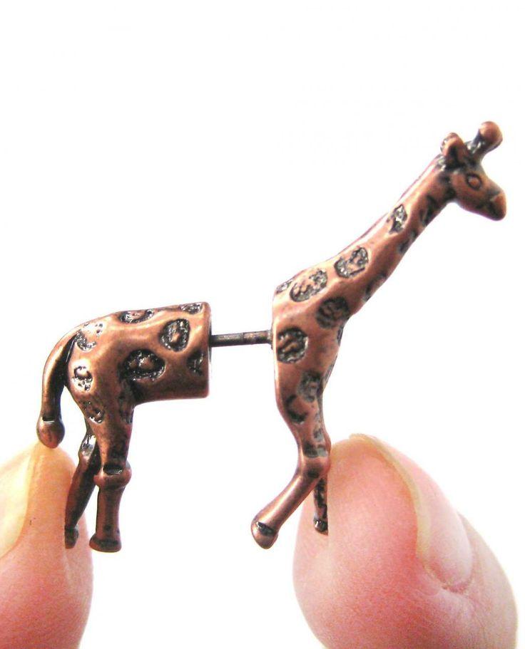 Giraffe earrings!