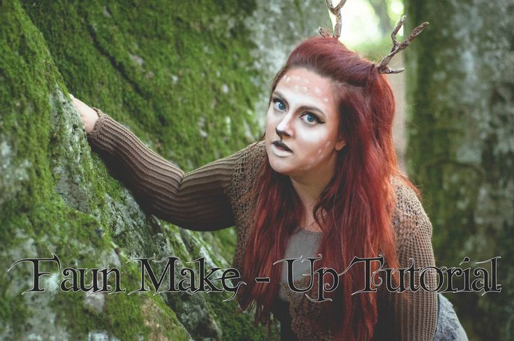 Fantasy Transformation: Faun make-up