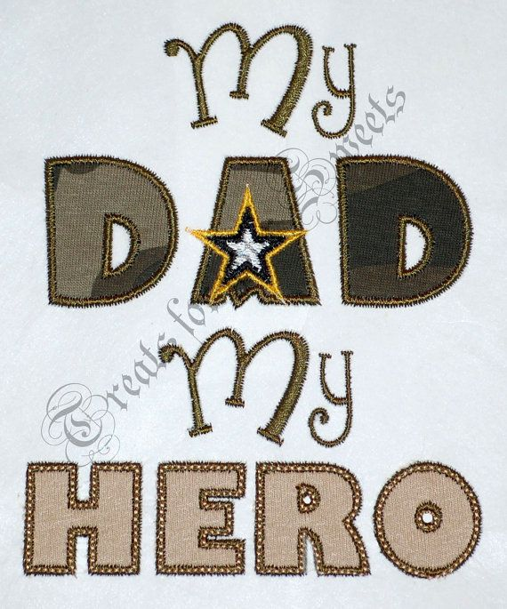 My Dad my Hero I love my army dad Onesie by treatsforyoursweets ... daeaa759d9