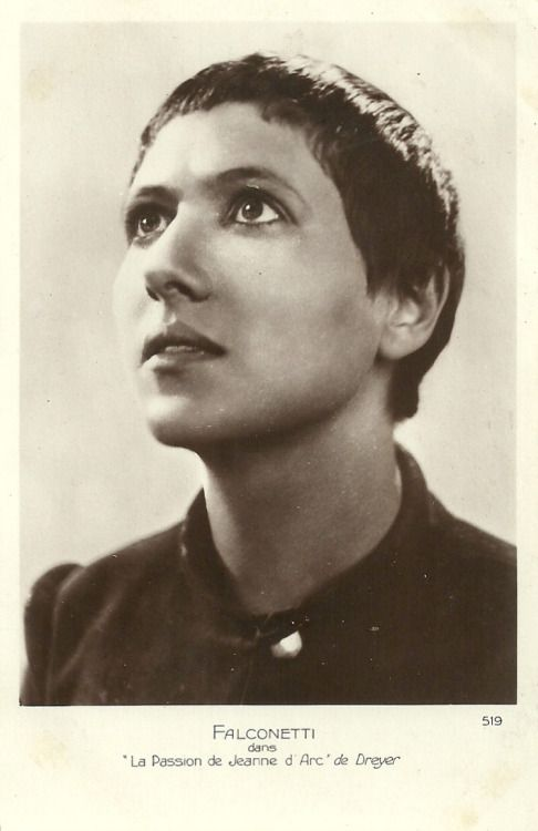 Renée Jeanne Falconetti. Carl Theodor Dreyer's The Passion of Joan of Arc (1928).