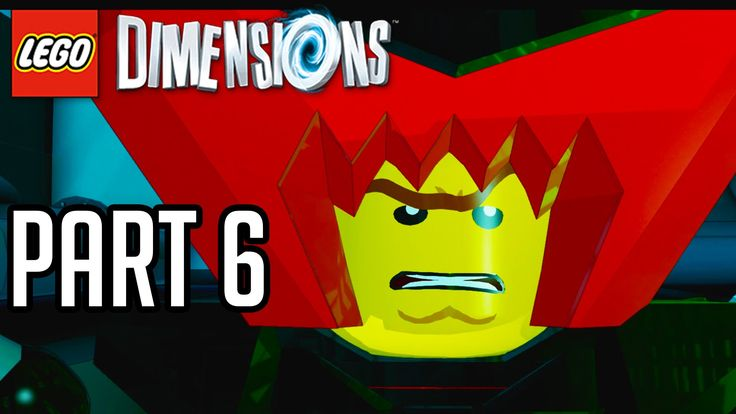 LEGO Dimensions Walkthrough Part 6 - LORD BUSINESS!! (Gameplay PS4/XB1/W...