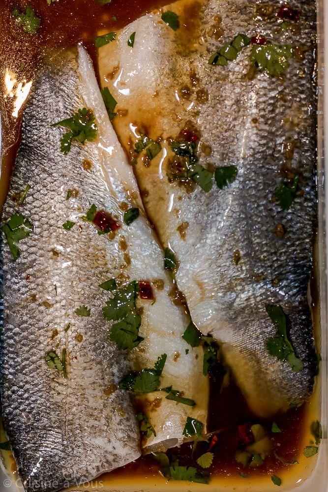 Zeebaars in oosterse marinade