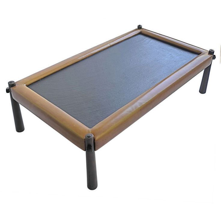 Percival Lafer Leather And Slate Coffee Table