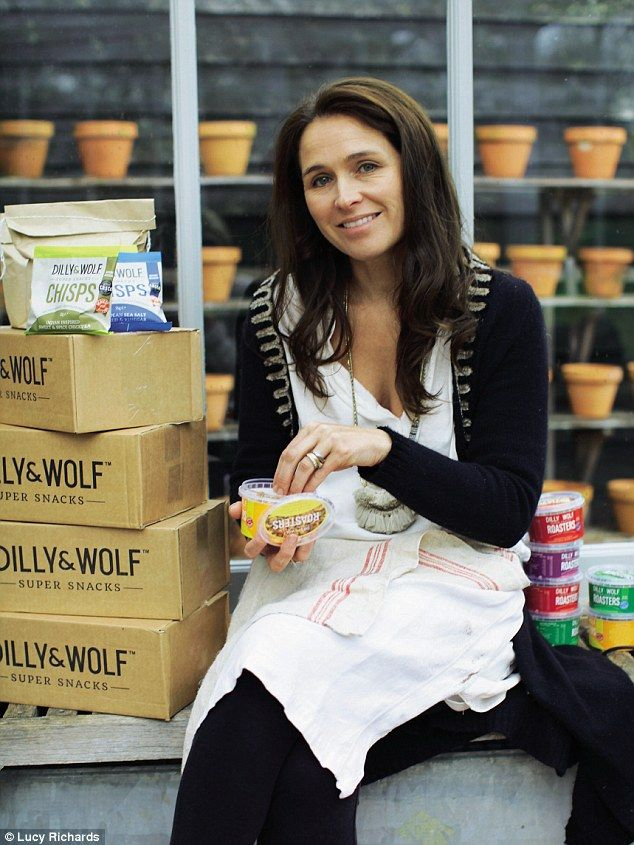 Annabel Vere Nicoll, founder of Dilly & Wolf...
