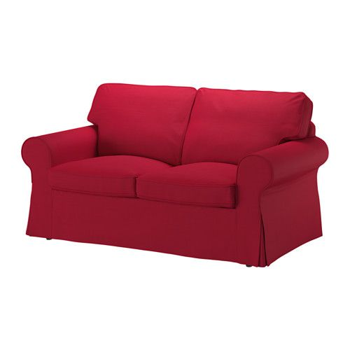 EKTORP Loveseat cover IKEA The cover is easy to keep clean as it is removable and can be machine washed.