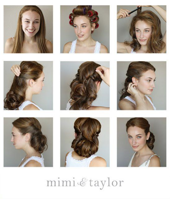 1950's Hairstyle Tutorial