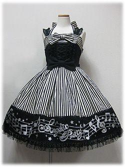 Angelic Pretty Fancy Melody JSK [in Black]