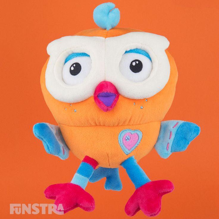 Hootly Beanie Soft Toy from Hoot Hoot Go