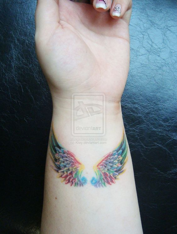best 25 angel wing tattoos ideas on pinterest