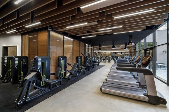 Pin By Alexis Miles On Fitness Gym Design Gym Interior