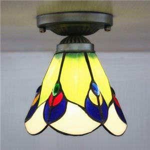 Plafonnier Antique Laiton Mini Semi Installation intégrée lustre suspension lampe avec festonné réduire