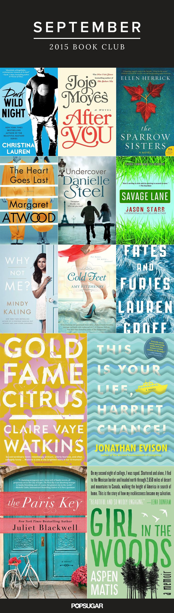 13 September Reads That Will Fit Your Every Mood
