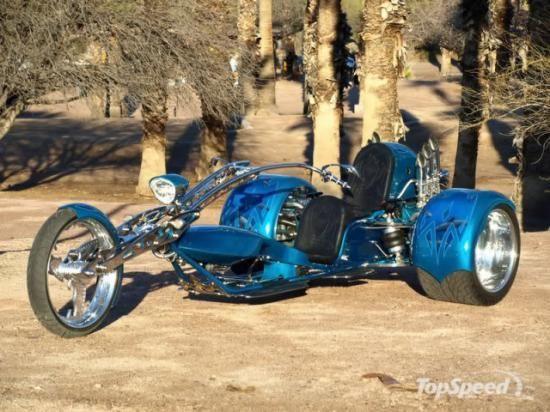 Trike avec moteur Porsche 911 turbo