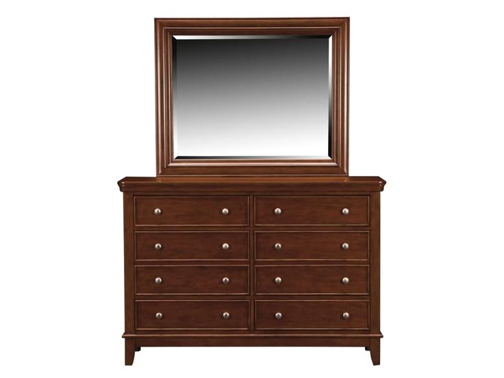 Brady Cherry Dresser Mirror Value City Furniture Home Decor And Style Pinterest