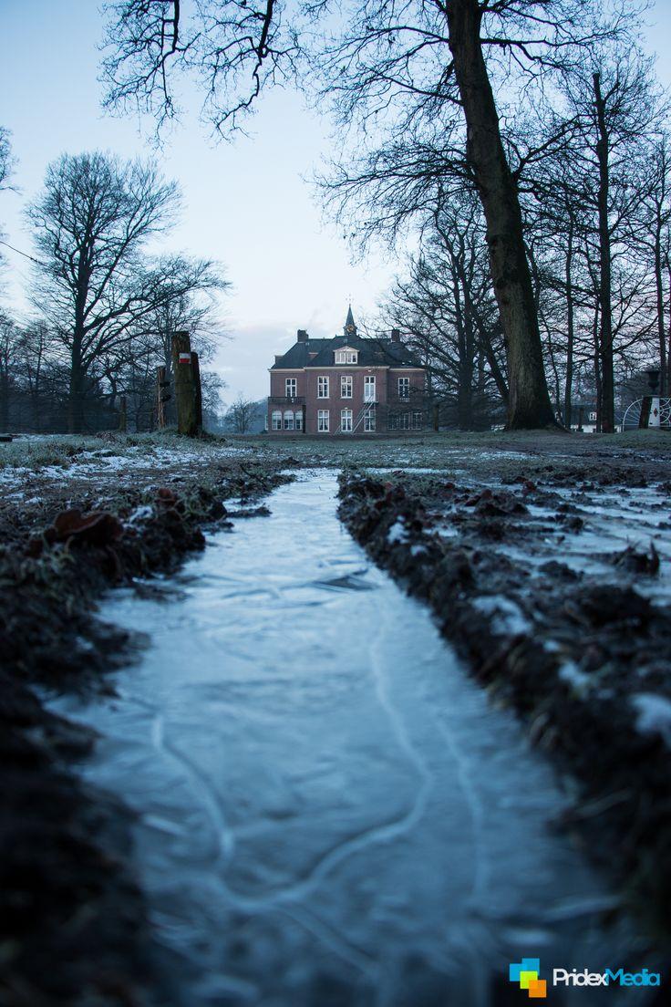Winter, Kasteel Hoekelum /Bennekom. The Netherlands