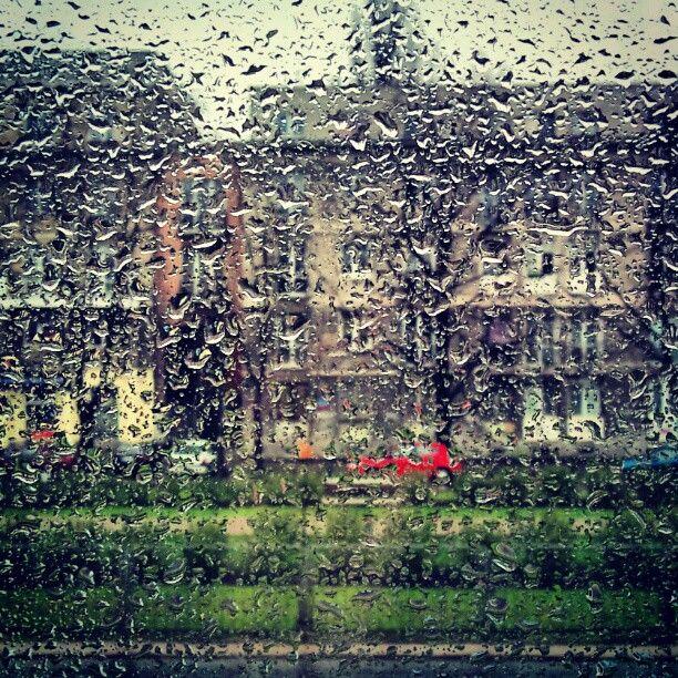 Deszczowo.