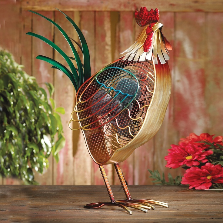Chicken And Rooster Decor Part - 16: Rooster Chicken Fan #chicken #decor